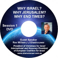 3 DVD Set: Why Israel Seminar with Rev. Glashouwer